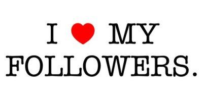 Thank you followers