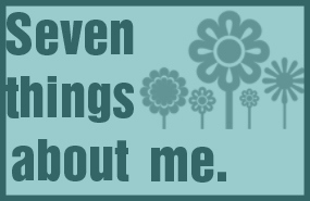 seven things about me award